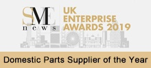 2019 Domestic Parts Supplier of the Year - SME UK Enterprise Awards
